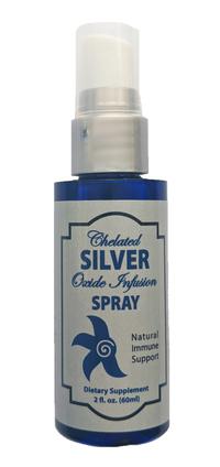 Silver Spray - 150 ppm, 2 fl oz / 60mL (3rd Rock Essentials)