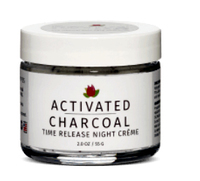 Activated Charcoal Time Release Night Creme, 2 oz / 55 g (Reviva Labs)
