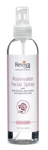 Rosewater Facial Spray, 8 fl oz (Reviva Labs)