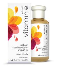 Natural Vitamin E Oil - 45,000 IU, 2.5 fl oz/ 74 ml (Home Health)