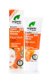 Organic Manuka Honey Face Mask, 4.2 fl oz / 125ml (Organic Doctor)