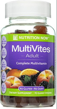 Multi Vites Gummy Vitamins, 70 gummy vitamins (Nutrition Now)