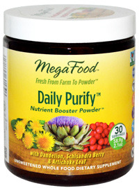 CLEARANCE SALE: Daily Purify Nutrient Booster Powder, 2.1 oz (Mega Food)