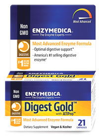 Digest Gold, 21 vegetarian capsules (Enzymedica)
