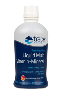 Liquid Multi Vitamin-Mineral, Orange Mango, 30 fl oz / 887 ml  (Trace Minerals Research)