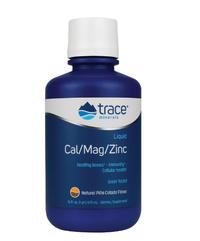 Calcium-Magnesium Liquid Cal/Mag/Zinc - Pina Colada, 16 fl oz  / 473 ml (Trace Minerals Research)