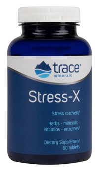 Stress-X,  60 tablets (Trace Minerals Research)
