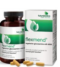 Flexmend Vegetarian Glucosamine With MSM, 90 vegetarian tablets (Futurebiotics)
