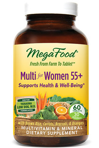 Multi for Women 55+  60 tablets (Mega Food)