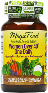 Women Over 40 One Daily Multivitamin, 30 tablets (Mega Food)