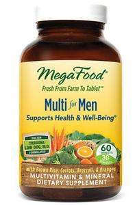 Multi For Men, 60 tablets (Mega Food)