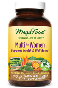 Multi For Women, 60 tablets (Mega Food)