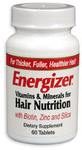 Energizer Hair Nutrition Vitamins, 60 tablets (Hobe Labs)