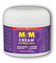 MSM Cream, 2 oz (Natural Balance)