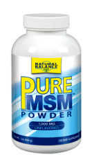 Pure MSM™ Powder - 1000 mg, 4 oz/113g (Natural Balance)