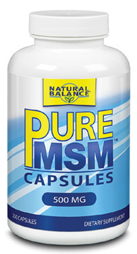 Pure MSM™ Capsules  - 500 mg, 250 capsules (Natural Balance)
