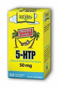 5-HTP, 50 mg - 60 vegetarian capsules (Natural Balance)