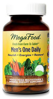 Men's One Daily Multivitamins, 30 tablets (Mega Food)