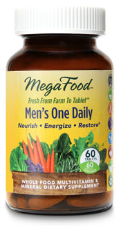 Men's One Daily Multivitamins, 60 tablets (Mega Food)
