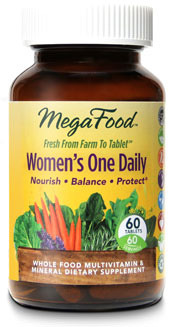 Women's One Daily Multivitamin, 60 tablets (Mega Food)