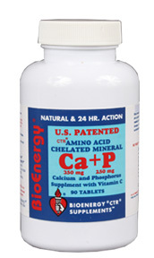 Calcium & Phosphorous CTR®, 90 tablets (Bioenergy)