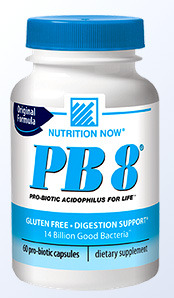 PB8™ Acidophilus Probiotics - 14 Billion CFU, 60 capsules (Nutrition Now)