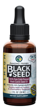Black Seed Oil - 1 fl oz / 30ml (Amazing Herbs)