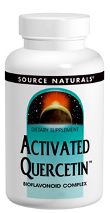 Activated Quercetin, 50 tablets (Source Naturals)