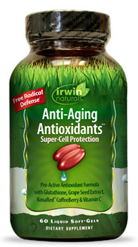 Anti-Aging Antioxidants, 60 liquid softgels (Irwin Naturals)