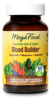 Blood Builder,  60 tablets (Mega Food)