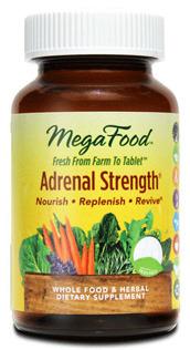 Adrenal Strength®, 30 tablets (Mega Food)