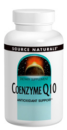 CLEARANCE SALE: Coenzyme Q10 - 30 mg, 30 capsules (Source Naturals)
