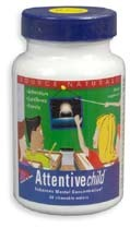 Attentive Child, 30 chewable wafers (Source Naturals)