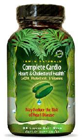 Complete Cardio, 96 liquid gels (Irwin Naturals)