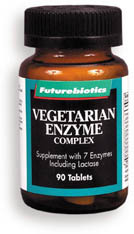CLEARANCE SALE: Vegetarian Enzyme Complex, 90 tablets (Futurebiotics)