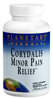 Corydalis Minor Pain Relief - 750 mg, 30 tablets (Planetary Herbals)