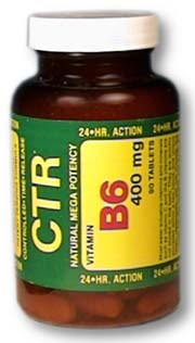 Vitamin B6 CTR® - 400 mg, 90 tablets (Bioenergy)
