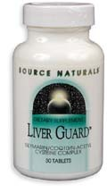 Liver Guard, 60 tablets (Source Naturals)