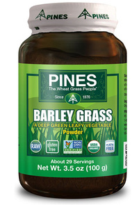 Barley Grass Powder, 3.5 oz (Pines)