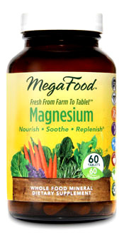 Magnesium - 50 mg, 60 tablets (Mega Food)