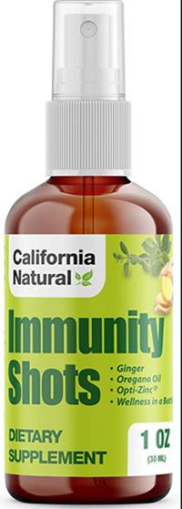 Immunity Shots, 1 oz spray / 30ml (California Natural)