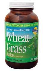 Wheat Grass Tablets, 500 mg - 250 tablets (Pines)