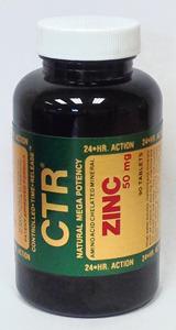 Zinc CTR® - 50 mg, 90 tablets (Bioenergy)