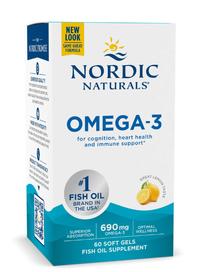 Omega 3, 60 softgels, 1000 mg (Nordic Naturals)