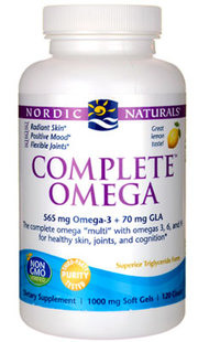 Complete Omega™ (Formerly Omega-3,6,9 Complete) - 1000 mg, 60 softgels  (Nordic Naturals)