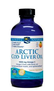 Arctic Cod Liver Oil™ Liquid - Orange, 8 fl oz / 237 ml  (Nordic Naturals)
