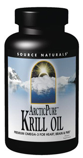 Krill Oil ArcticPure® - 500 mg, 30 softgels (Source Naturals)