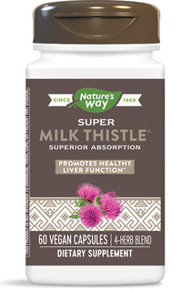 Super Milk Thistle, 60 vegetarian capsules (Enzymatic Therapy)