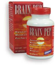 Brain Pep, 60 vegetarian capsules (Natural Balance)