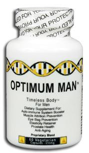 Optimum Man™ - 650 mg, 60 vegetarian capsules (Novus Optimum)